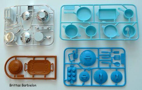 Barbie Dream Kitchen Mattel Bild #20
