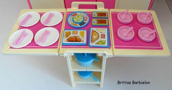Barbie Dream Kitchen Mattel Bild #34