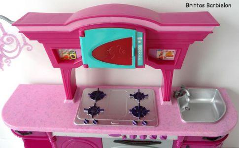Barbie Glam Kitchen Mattel 2008