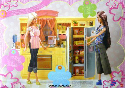 Play All Day - Barbie Küche Mattel 2004 G8499 Bild #02