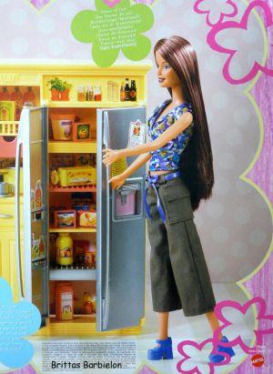 Play All Day - Barbie Küche Mattel 2004 G8499 Bild #04
