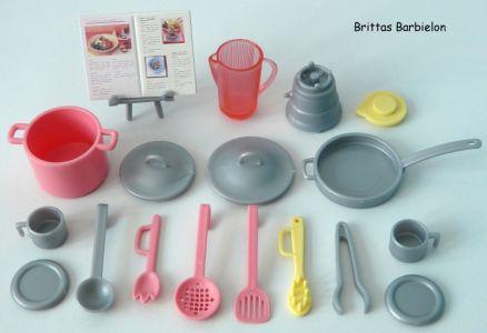 Play All Day - Barbie Küche Mattel 2004 G8499 Bild #23