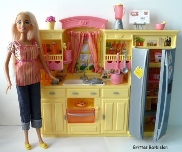 Play All Day - Barbie Küche Mattel 2004 G8499 Bild #26