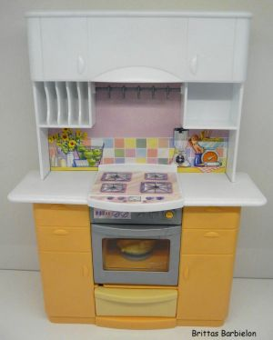 Barbie Light up Kitchen Mattel 1999 -67238 Bild #05