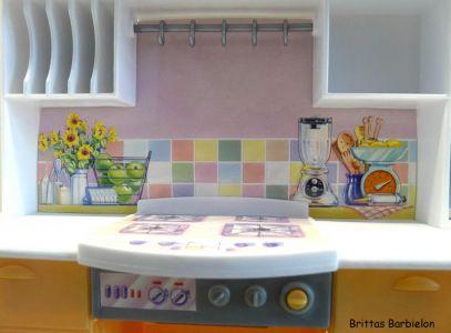 Barbie Light up Kitchen Mattel 1999 -67238 Bild #07