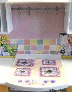 Barbie Light up Kitchen Mattel 1999 -67238 Bild #08