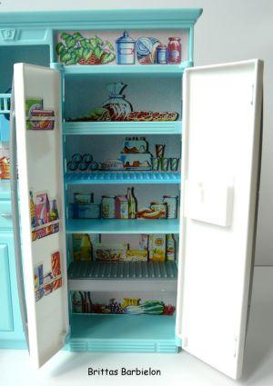 Barbie Living in Style Kitchen Playset Mattel 2002 Bild #03