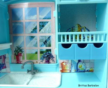 Barbie Living in Style Kitchen Playset Mattel 2002 Bild #08