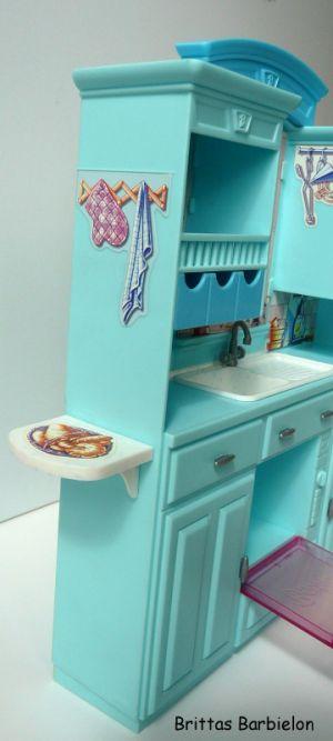 Barbie Living in Style Kitchen Playset Mattel 2002 Bild #09