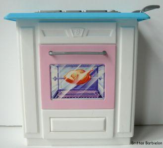Barbie Living in Style Kitchen Playset Mattel 2002 Bild #10