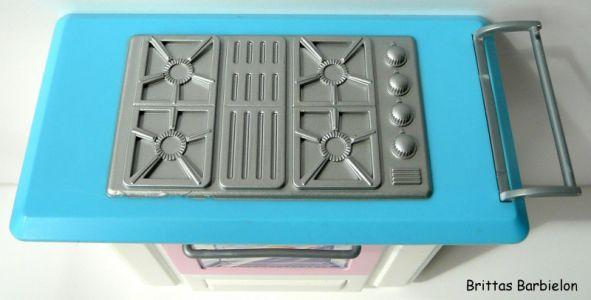 Barbie Living in Style Kitchen Playset Mattel 2002 Bild #11