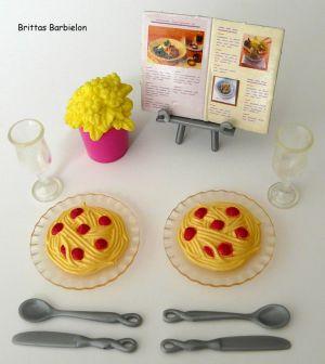 Barbie Living in Style Kitchen Playset Mattel 2002 Bild #15