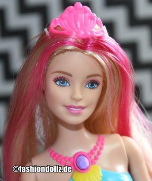 2016 Dreamtopia Rainbow Lights Mermaid Barbie DHC40