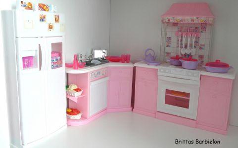 Barbie Pretty Folding Küche Mattel 1996 Bild #01