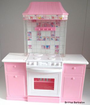 Barbie Pretty Folding Küche Mattel 1996 Bild #02