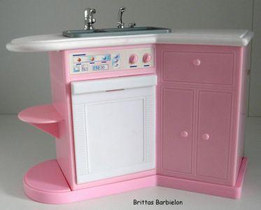 Barbie Pretty Folding Küche Mattel 1996 Bild #08