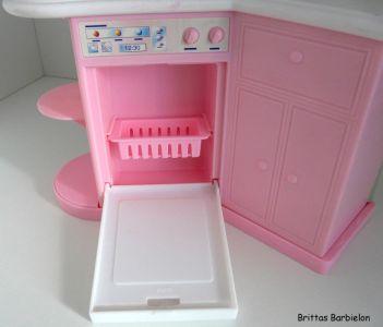 Barbie Pretty Folding Küche Mattel 1996 Bild #12