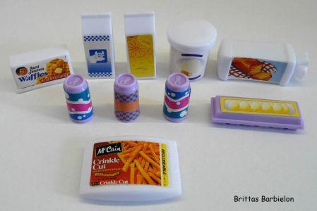Barbie Pretty Folding Küche Mattel 1996 Bild #22