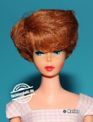1966 Sidepart Bubble Cut, pink skin, red hir 6Japan xclusive)