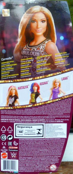 2018 WWE Superstars Carmella #FTD84