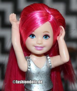 2015 Barbie in Rock N' Royals -  Princess Chelsea, pink CKB69