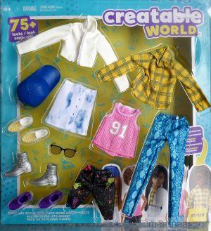 Mattel Creatable World, Fashion Pack es- 619
