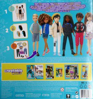 Mattel Creatable World, Fashion Pack es-619