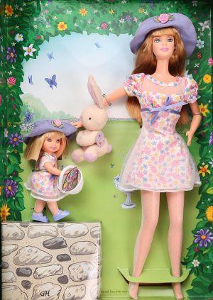 1999 Easter Bunny Fun Barbie & Kelly #21720