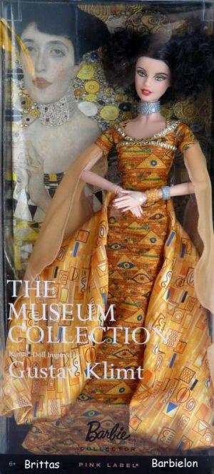 Gustav Klimt Barbie Bild #01