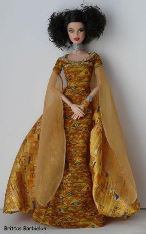 Gustav Klimt Barbie Bild #05
