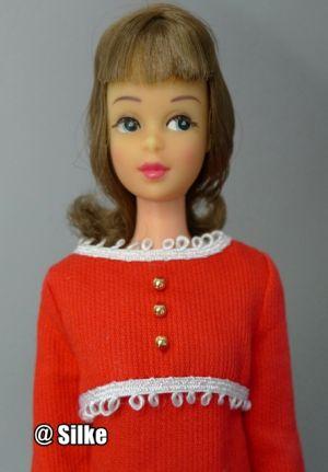 1966 Japanese Francie, Side-glancing-eyes