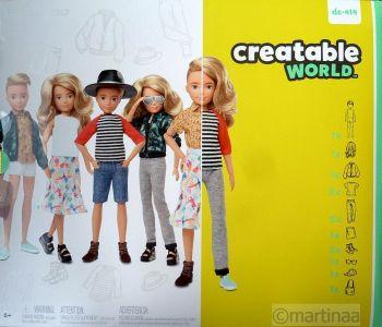 Mattel Creatable World Kid Charakter 414, Deluxe Set ds-414