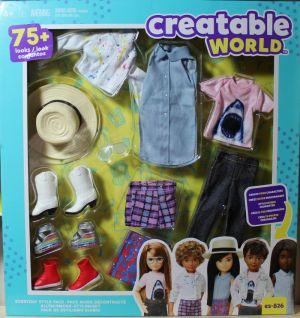 Mattel Creatable World, Fashion Pack es-8  26