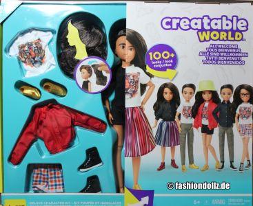 Mattel Creatable World Kid Charakter 557, Deluxe Set ds -557