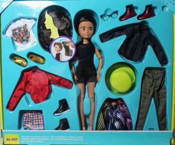 Mattel Creatable World Kid Charakter 557, Deluxe Set ds -5 57