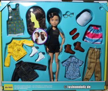 Mattel Creatable World, Kid Charakter 965, Deluxe dc- 9 65