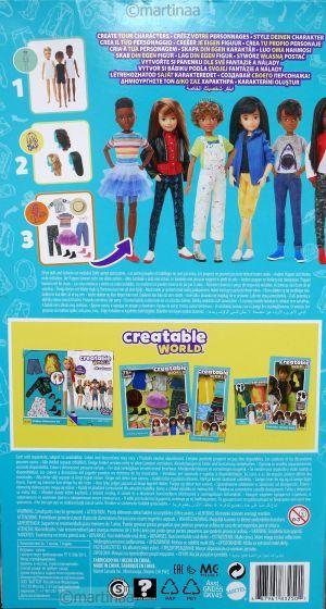 Mattel Creatable World Kid Charakter 826, Starter cs-826