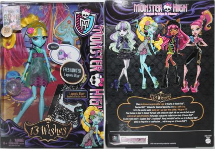 Monster High 13 Wishes Lagoona