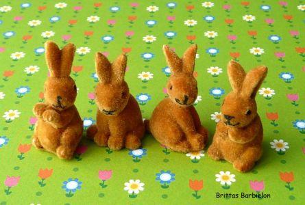 Osterdeko Miniaturen aus Drogeriemärkten