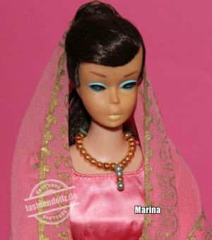 1964 Swirl Ponytail Barbie, brunette
