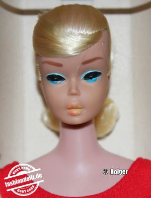 1964 Swirl Ponytail Barbie, Pale blonde