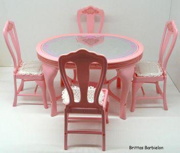 Tische und Stühle von Mattel Bild #021