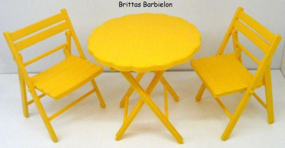 Tische und Stühle von Mattel Bild #036