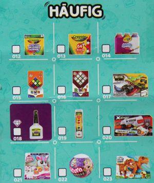 ZURU - 5 Surprise, Toy Mini Brands, Sammel-Guide 012-023
