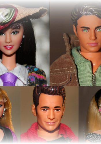 1991 Beverly Hills 90210 Barbies