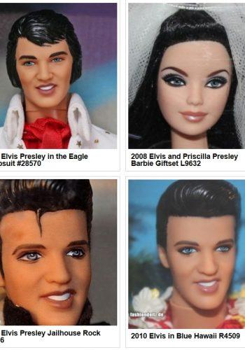 1997-2010 Elvis Presley Dolls