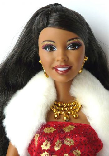 2010 Holiday Wishes Barbie AA