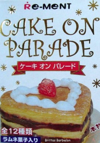 Re-Ment 2003, Cake On Parade