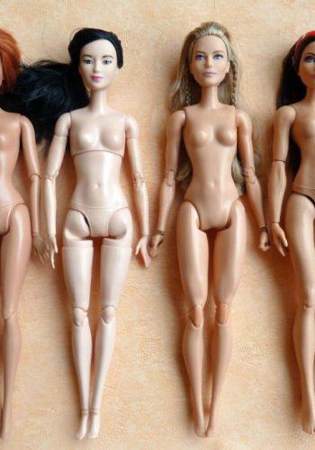 Bewegliche Barbiekörper