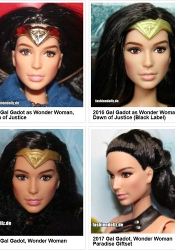 2016-2020 Wonder Woman Dolls